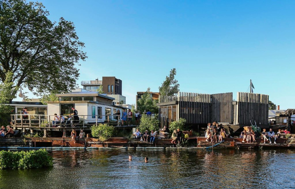 Cafe de Ceuvel Sustainable Amsterdam
