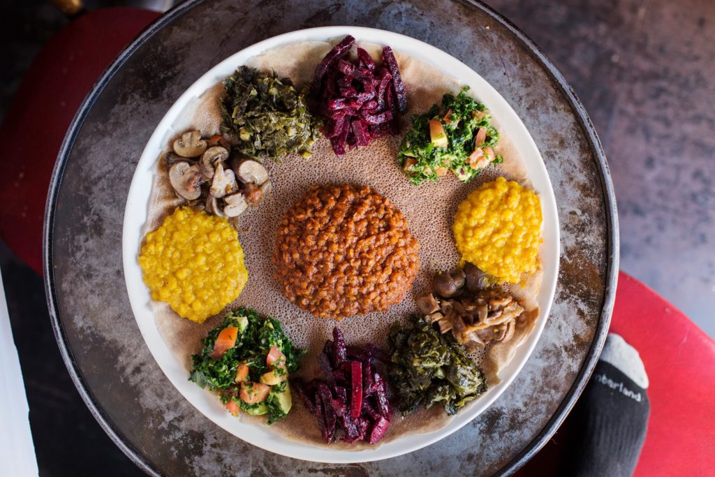 Bunna Cafe, Vegan Ethiopian NYC